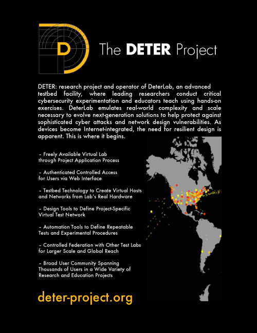 Image of DETER's One Sheet
