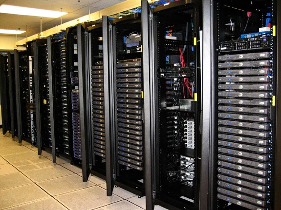 Example of DeterLab Testbed Servers