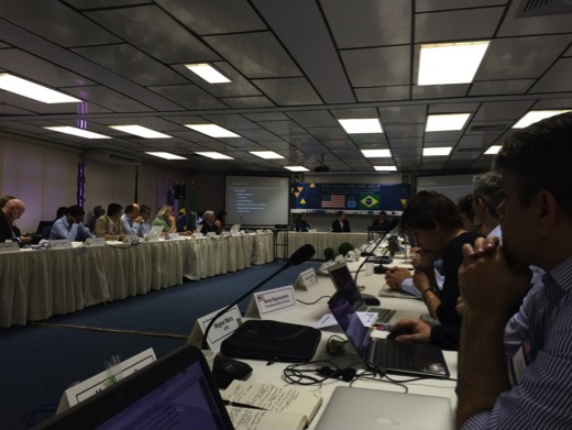 Attendees at the joint workshop on cybersecurity and privacy